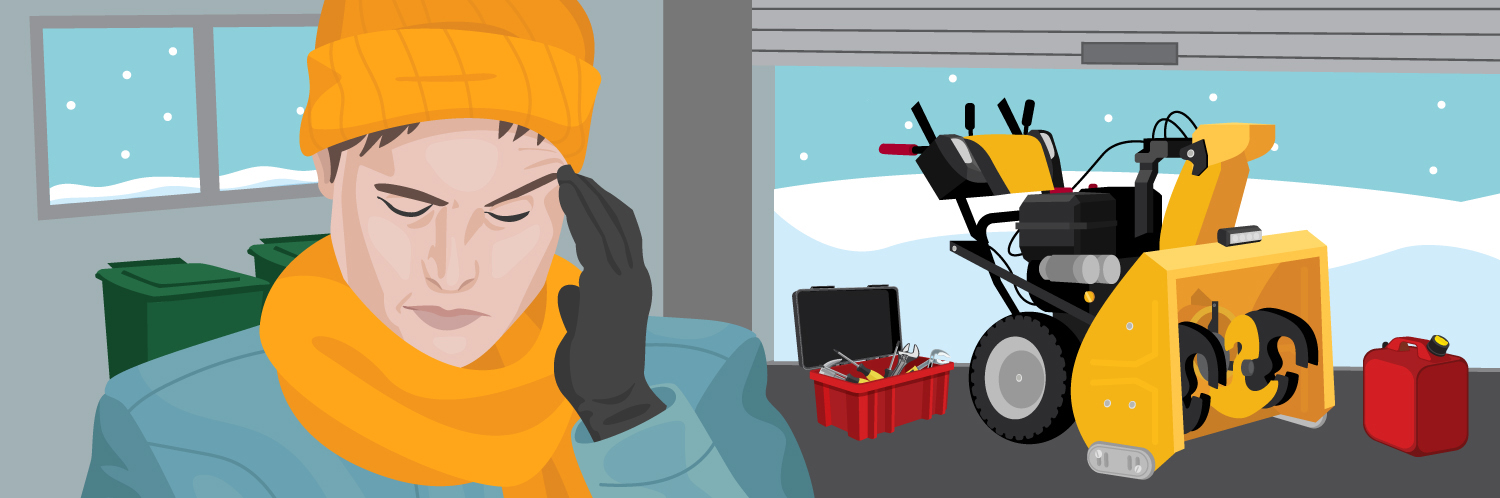 How to Fix a Snowblower That Won't Throw Snow