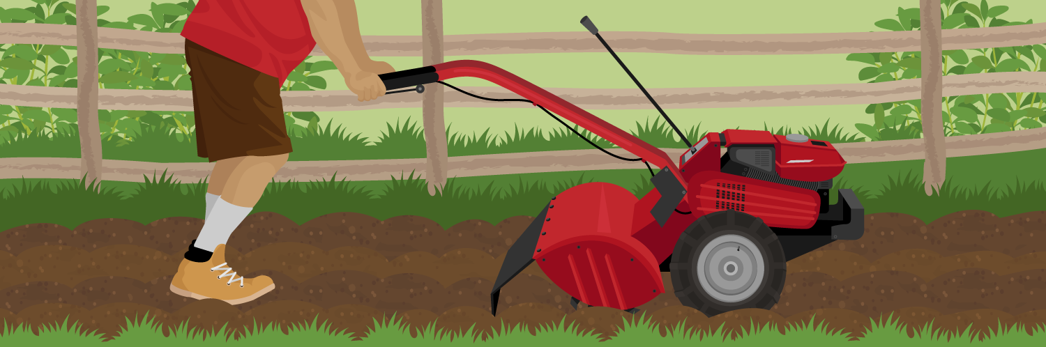 How to Till a Garden Using a Rototiller