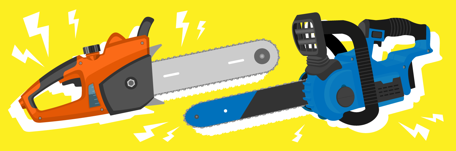 Gas-Powered vs. Battery-Powered Chainsaw: Which is Right for you?