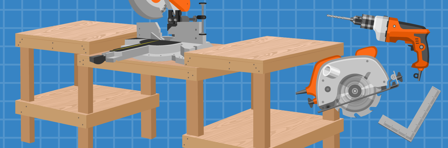 How to Build a Custom Miter Saw Work Bench