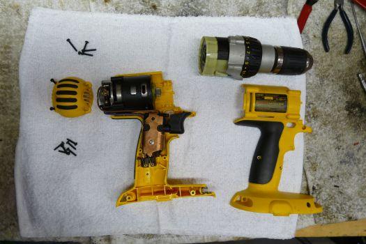 power switch repair 101 ereplacementparts com rh ereplacementparts com de walt cordless drill de walt power tool wiring diagrams #46