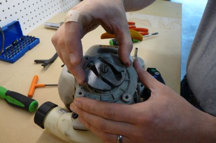 Clutch Plate Removal