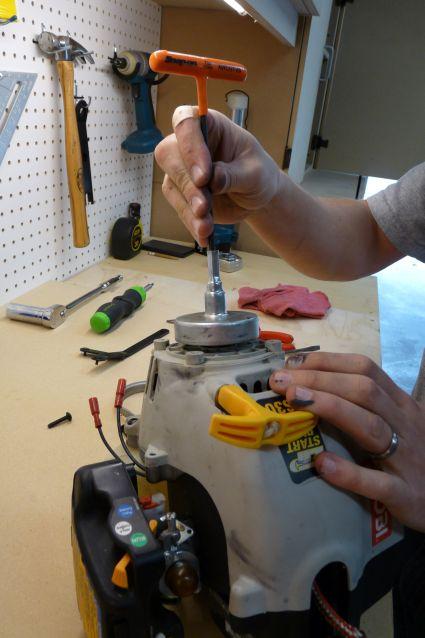 Removing Clutch Drum