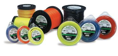 Naturally As The Thickness And Toughness Of Yard Or Garden Material Being Cut Increases A Heavier Sharper Stlye Trimmer Line Is Needed