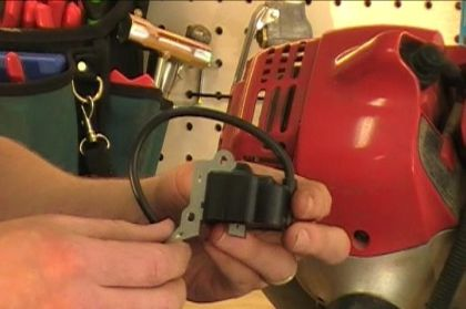 How to Install an Ignition Coil on a Lawn Trimmer