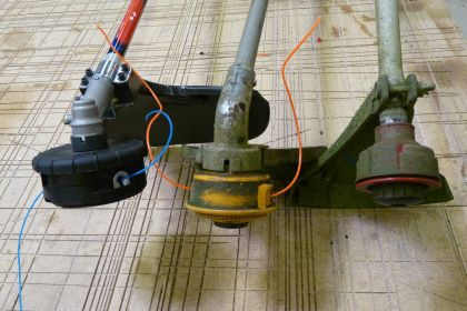 Single Line, Double Line, and Speed Feed Trimmer Heads