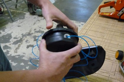 How to Replace Trimmer Line : eReplacementParts com