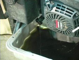 Draim Mower Oil