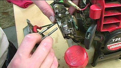 Remount the Carburetor