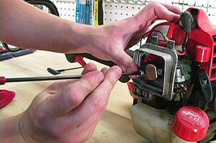 Tighten Carburetor Screws