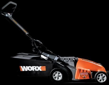 The Worx WG780 Electric Lawn Mower