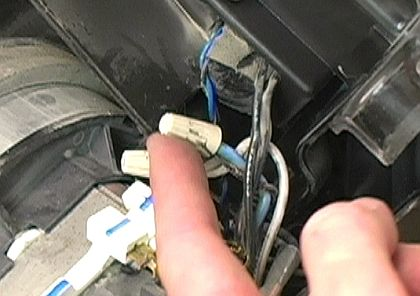 how to replace a vacuum power cord ereplacementparts com black motor wire