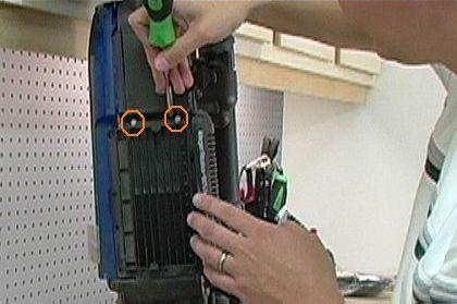 Remove Filter Housing Screws
