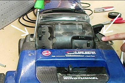 Remove Motor Housing Fasteners