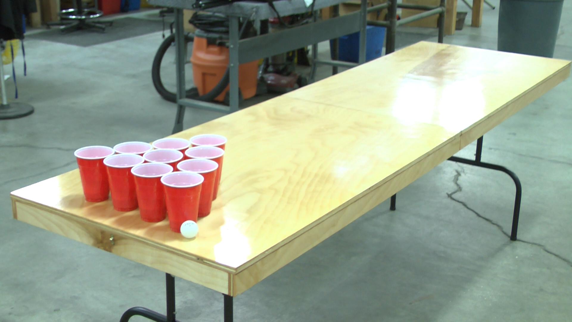 beer pong table diy diy do it your self