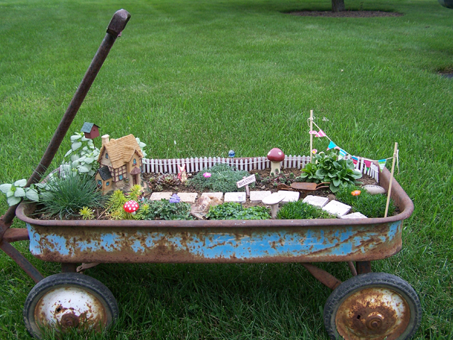 A Great Diy Project Fairy Gardening With Sun River