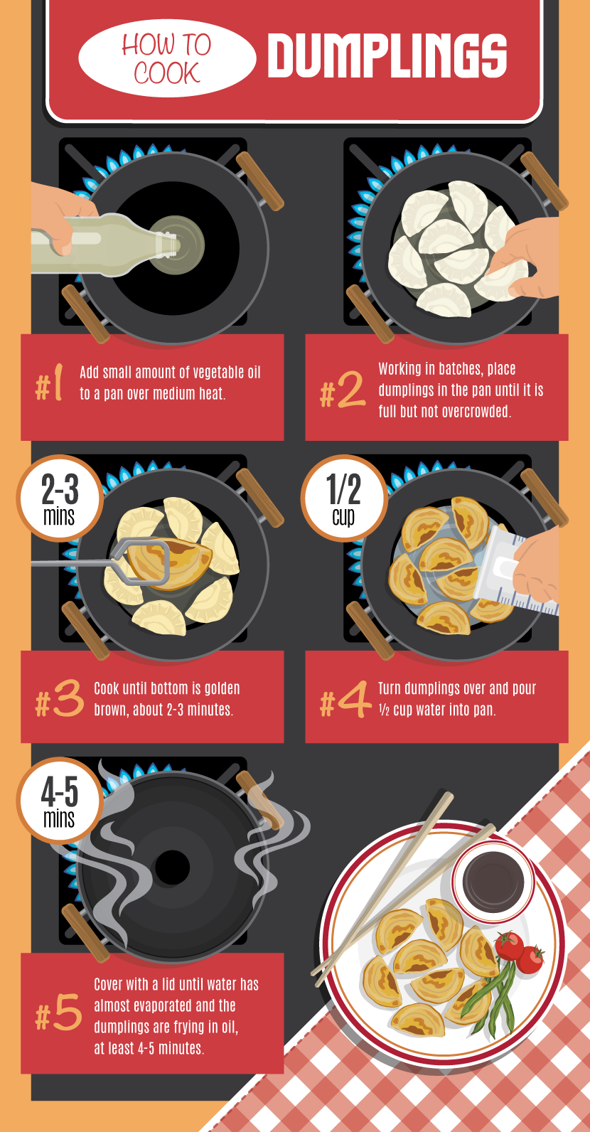 Cooking Dumplings - Making Your Own Dumplings