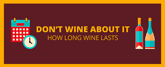 Don't Wine About It: How Long Wine Lasts