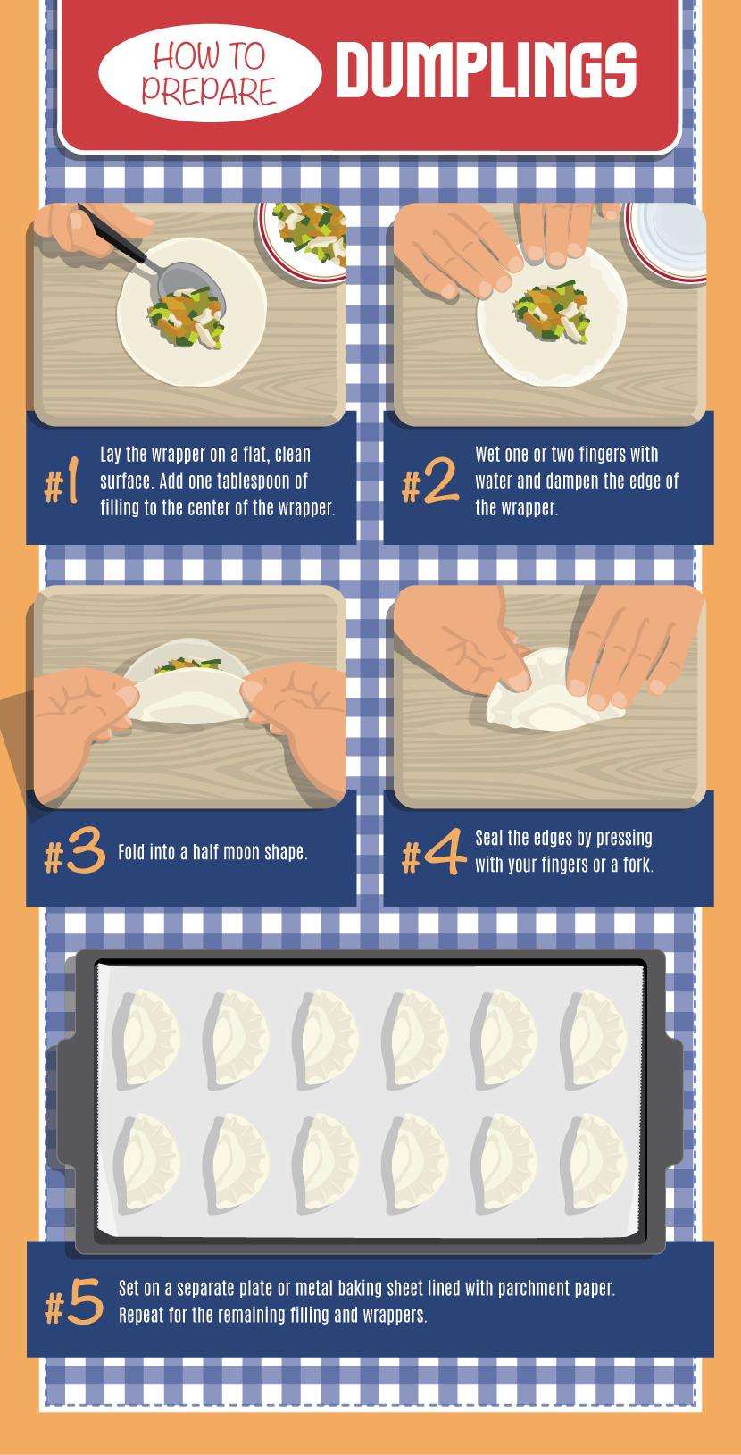 Preparing Dumplings - Making Your Own Dumplings