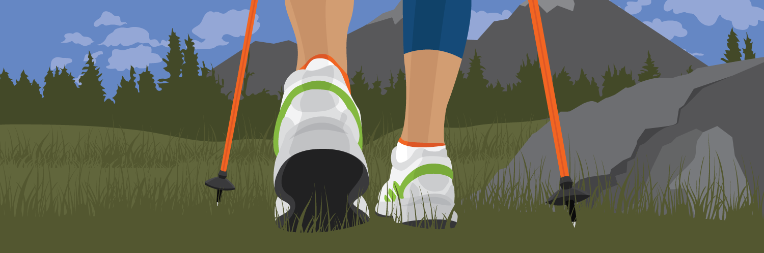 Beginner's Guide to Nordic Pole Walking