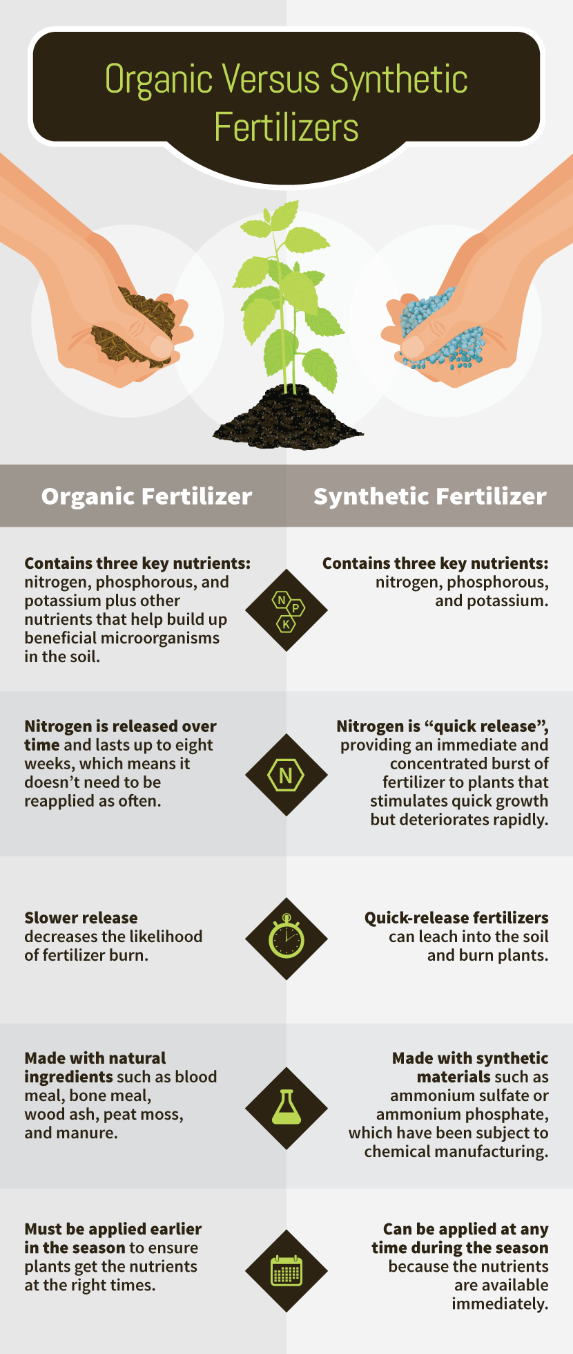 Organic Vs. Synthetic - Making Your Own Environmentally Friendly Garden Fertilizers Is Easier Than You Think