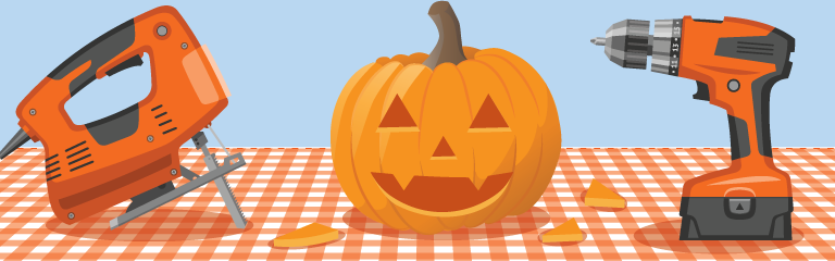 How to Empty and Carve Pumpkins with Power Tools