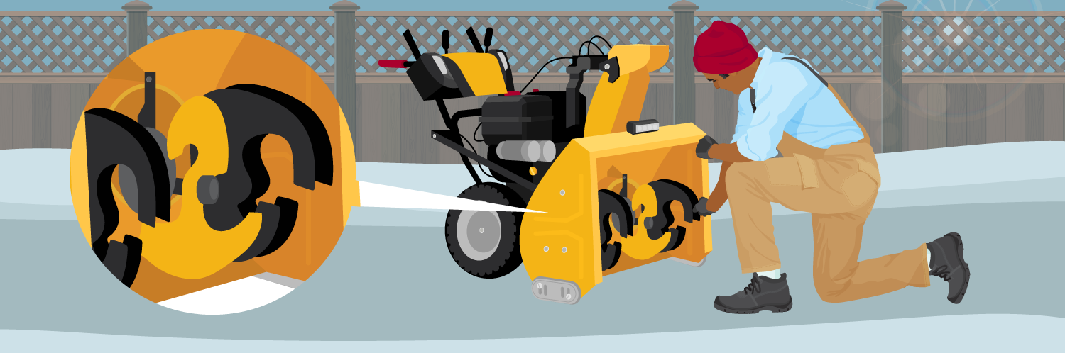How to Fix a Snowblower Auger That Won't Engage