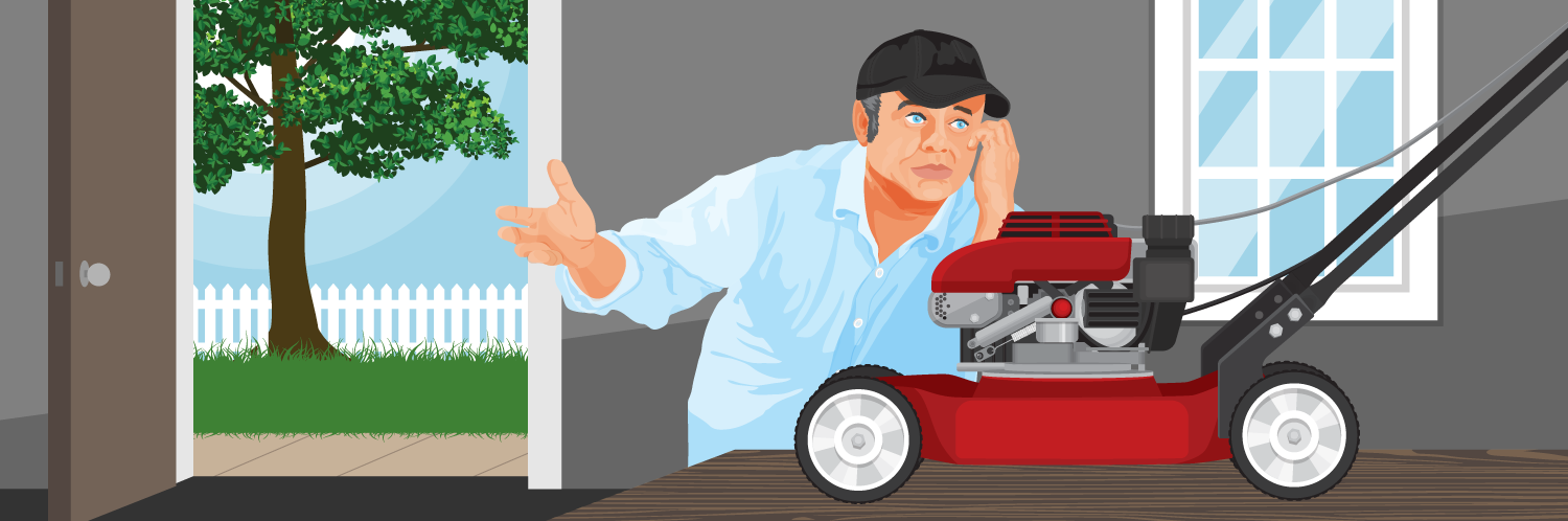 Top 6 Reasons Why Your Lawnmower Won't Start