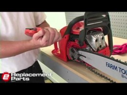 How to Install a Locked Chainsaw Sprocket Plate