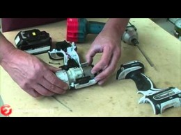 How to Replace the Leaf Spring on a Makita Power Drill