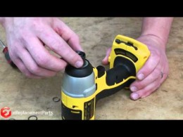 How to Replace the Chuck on a DeWalt Impact Driver
