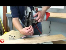 Quick Fix: How to Replace the Blade on a Miter Saw