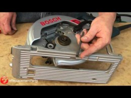 How to Replace the Guard Spring on a Skil or Bosch Worm Drive Saw