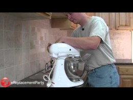How to Replace the Carbon Brushes on a KitchenAid Stand Mixer