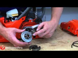 How to Replace the Clutch Sprocket on a Chainsaw