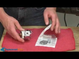 How to Fix a Blower Carburetor