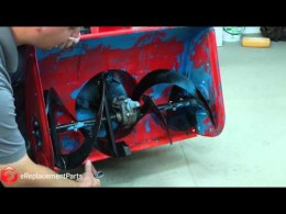 How to Adjust the Skid Plates and Scraper on a Two-Stage Snowblower