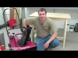 How to Change the Belt on a Toro Single Stage Snowblower