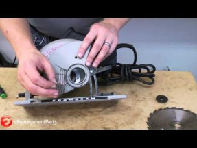 How to replace the blade guard on a porter cable circular saw video keyboard keysfo Choice Image
