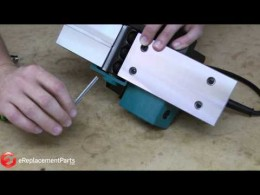 How to Replace the Blades on a Hand-Held Planer