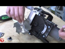 How to Replace the Blade on a Porter Cable Biscuit/Plate Joiner