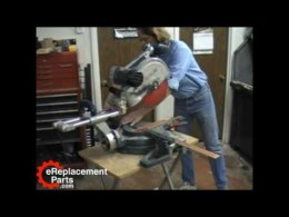 Bosch 4412 & 5412 Miter Saw Adjustment