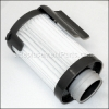 Eureka Filter Assembly part number: E-75273-1