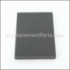Bissell Foam Filter part number: B-203-2171