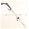 Bissell Handle - Storm Blue part number: B-203-2209