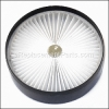 Hoover Pleated Filter - Dirt Cup part number: H-440001619
