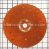 Phenolic Disc Backing Pad - 9 Diameter, 7/8 Arbor