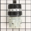 Makita Gear Assy BHP452HW part number: 125387-0