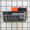 Black and Decker Battery Pack 12 Volt part number: HPB12