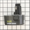 Black and Decker 14.4V Battery (Saber) part number: PS140